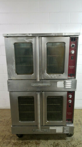 Southbend SLGS/22SC Double Stack Convection Oven Nat Gas 115 Volts 1 Ph Tested