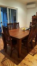 6 seater dining table and 6 matching  chairs Normanhurst Hornsby Area Preview