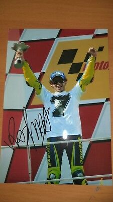 Rossi Settimo Con Autografo Foto Copia Valentino thQsdr