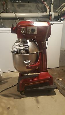 20 Qt Mixer Red Holbart Anniversary Edition