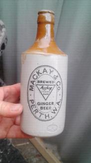 Mackay's perth ginger beer bottle