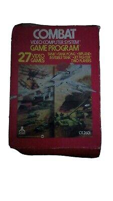 Combat Boxed Atari 2600 VCS Game Cartridge - Atari