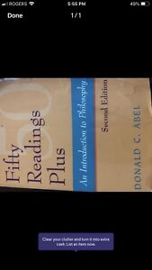 Fifty readings plus 2nd ed