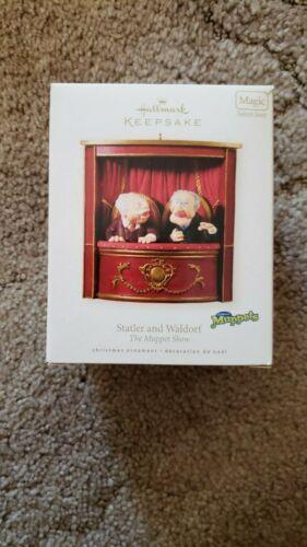 Hallmark Statler and Waldorf Muppets 2008 Keepsake Ornament Used