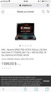 Msi Ge62 7rd Gamer