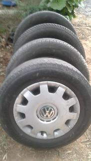 VW Golf MK4 wheels, tyres & hubcabs