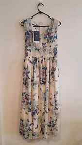 Butterflies maxi dress new with tag (garage sale) Homebush Strathfield Area Preview