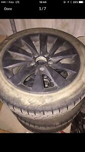 """BMW 17"""" wheel and snow tire"""