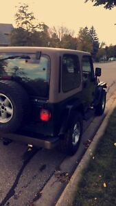 Jeep Tj sport for sale