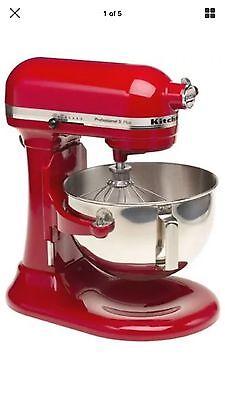 Kitchen Aid KV25G0XER Professional 5 Plus 5 Quart Stand Mixer, Empire Red New