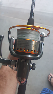 Fishing rod/reel combo North Tivoli Ipswich City Preview