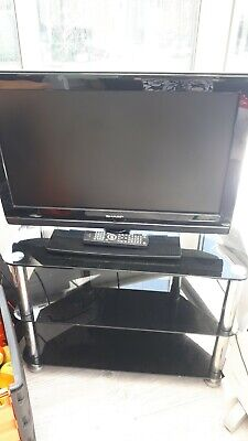 tv 26 inch used with stand.
