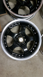 "Genuine set SSR Kranz 15"" 4x100 rare jdm wheels rims"
