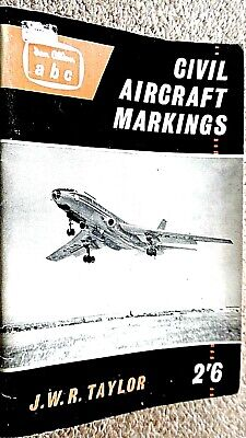 IAN ALLAN ABC CIVIL AIRCRAFT MARKINGS 1960 / John W R Taylor