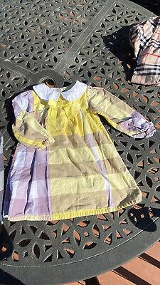 BURBERRY Kids Classic Girls Shirt Plaid Dress 3T