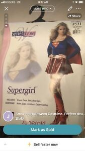 Wonderful Woman Adult costume for sale ONLY $50.00