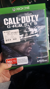 call of duty ghosts xbox one game Hobart CBD Hobart City Preview