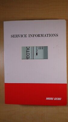 Mori Seiki 18ita Zl-35 Zl-35mc Service Information Manual 7d B1