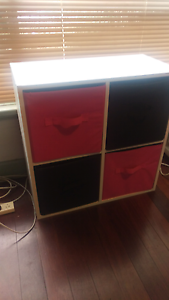Pink and black 4 cubby organiser Cloverdale Belmont Area Preview