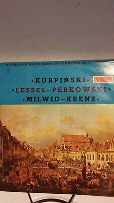 WORKS FOR WOOD-WIND INSTRUMENTS WITH ORCHESTRA LP Muza Polish imp Kurpinski MINT
