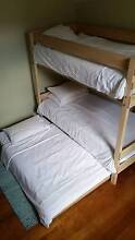 """""""BUNKERS"""" TIMBER BUNK BED Croydon Burwood Area Preview"""
