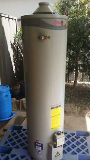Indoor gas hot water system