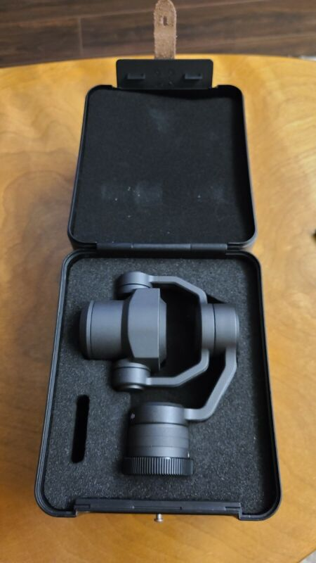 DJI Zenmuse X4S 20MP 4K 3-Axis Gimbal Drone Camera Mint Condition