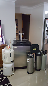 Near new condition kegerator twin tap complete setup. Berkeley Vale Wyong Area Preview