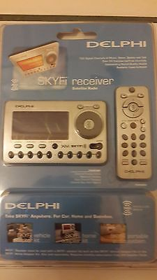 Delphi xm Satellite Radio Delphi Sa50000 Skyfi Xm Receiver & Remote.Mnual SEALED