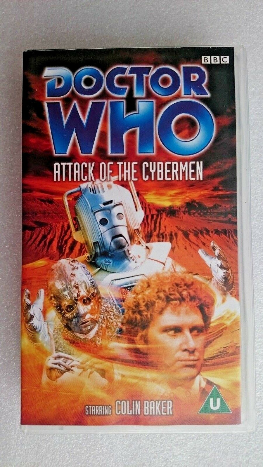 Doctor Who Attack of the Cybermen Colin Baker (VHS 2000)