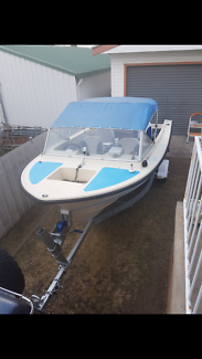 Cruise craft 4.5 metre fiberglass boat