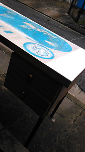 RETRO 70S MAP DESK WITH DRAWERS Centennial Park Eastern Suburbs Preview