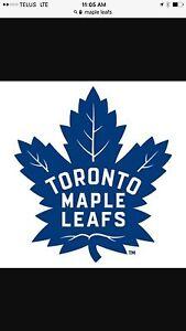 Leafs vs oilers Edmonton Edmonton Area image 1