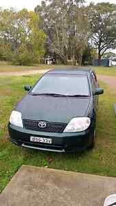 2003 Toyota Corolla Raymond Terrace Port Stephens Area Preview