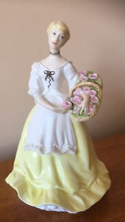 "Worcester ""Spring Fair"" Figurine Made in England"