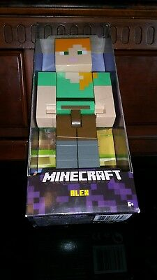 "Minecraft Large Scale Action Figure - Alex - FLC72 8.5"" BRAND NEW"