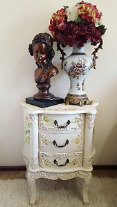 *** DECORATIVE FRENCH PROVINCIAL / SHABBY CHIC SIDE TABLES ** Fremantle Fremantle Area Preview