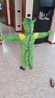 Vestito costume carnevale bambino 4 -5 Anni da drago marca Trudi