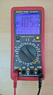 New Digital 2kv 2000v Acdc High Voltage Multimeter Voltmeter Tester
