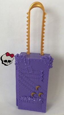 Monster High Doll Spares Trolley Suitcase Accs Clawdeen Scaris