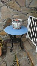 round table and enamel pot Mount Gambier Grant Area Preview