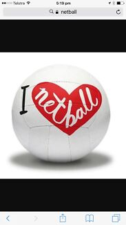 Wanted: Female netball player required