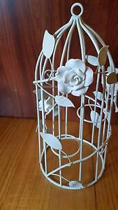 Lovely White Rose candle cage Blackburn Whitehorse Area Preview