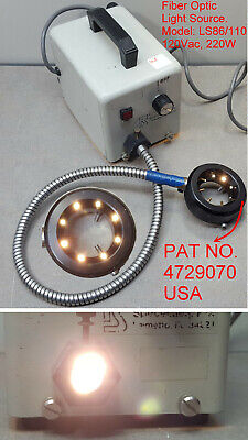 Fiber Optic Light Source Ls86110.120vac220w With Adjustable Ring Light 4729070