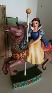 Beautiful Disney Snow White Carousel Ornament. Immaculate condition!