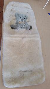 Lamb's wool pram or car seat insert Silver Sands Mandurah Area Preview