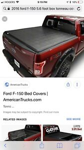 Ford F-150 5.5 foot tonneau cover
