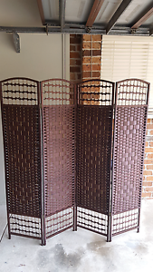 Decorative Rattan Room Divider Privacy Screen Faulconbridge Blue Mountains Preview