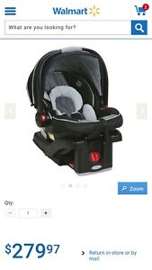 graco snug ride 35 infant car seat for sale - new
