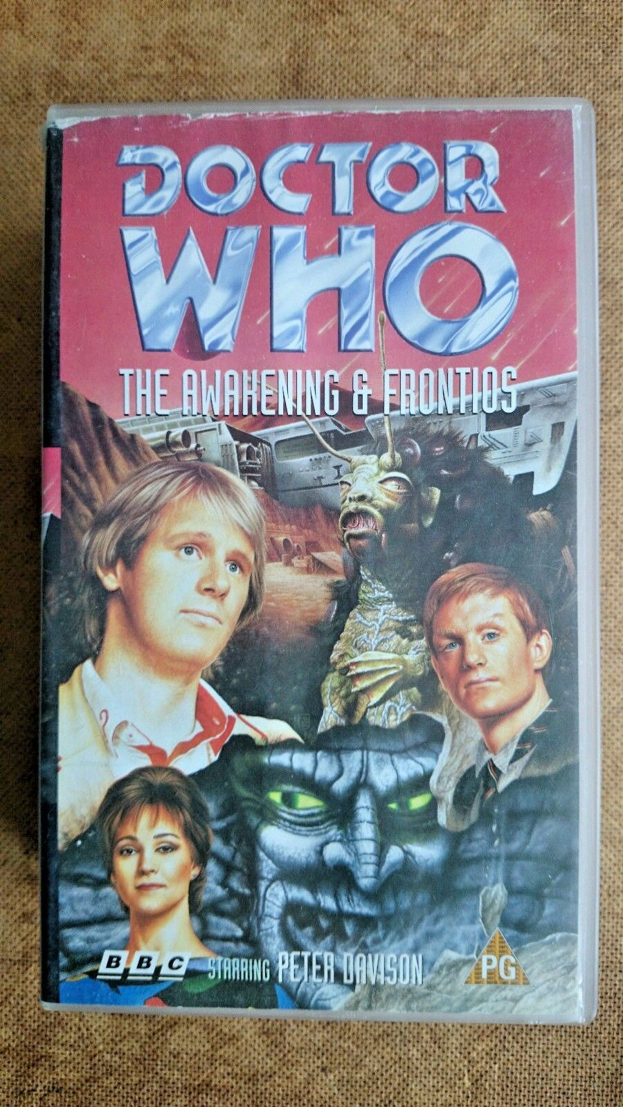 Doctor Who The Awakening / Frontios...Peter Davidson